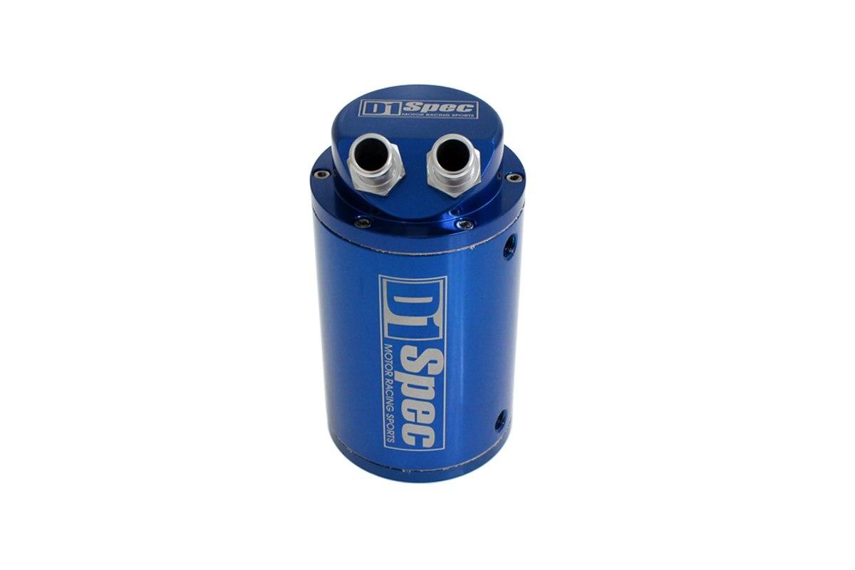 Oil catch tank 0.7L 15mm D1Spec Blue - GRUBYGARAGE - Sklep Tuningowy